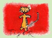 Kínai horoszkóp -Tigris ( 1950; 1962; 1974; 1986; 1998, 2010; 2022)
