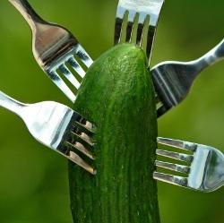 Szezámmagos frissítő saláta