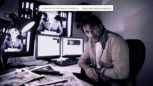 Árpa Attila az internetes ismerkedésről