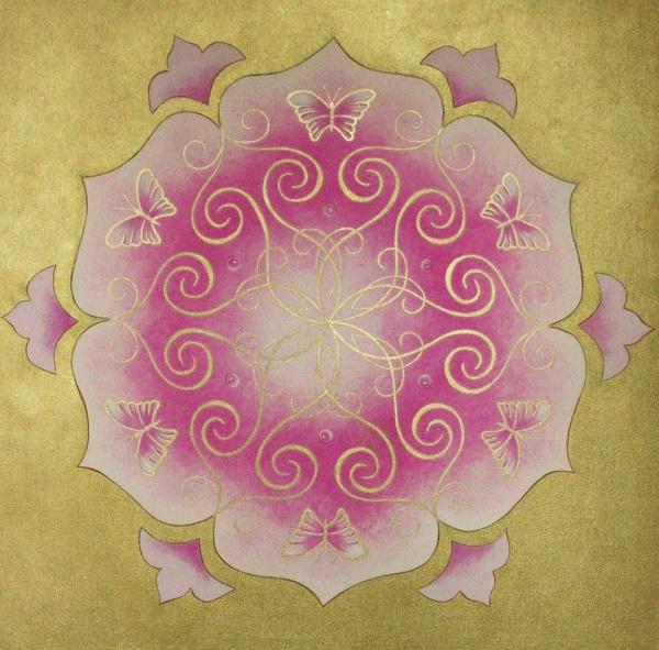 mandala pillangó dukai festmények