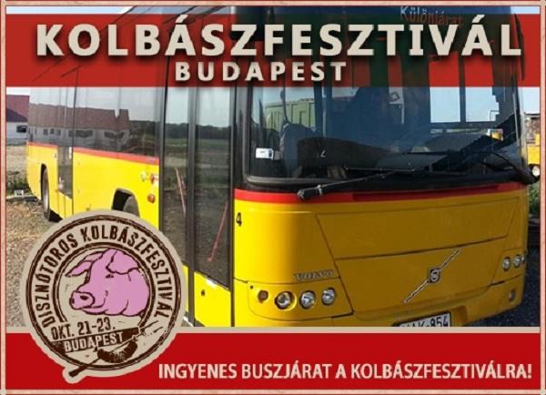 Disznótoros Kolbászfesztivál Budapesten!