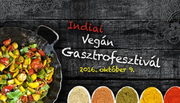 Indiai vegán gasztronómiai nap a Lélek Palotájában