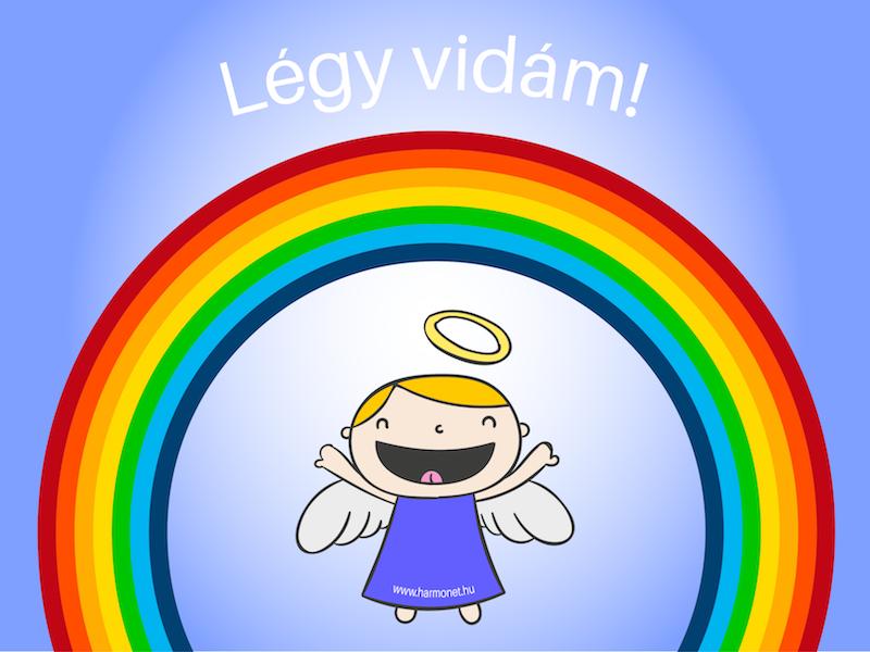 Kicsi angyalok sugallata: Légy vidám