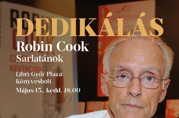Robin Cook Magyarországon!