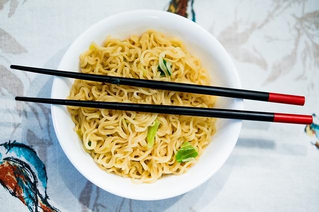 Könnyű tészta kínai módra