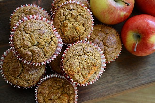 Mikulásváró muffin