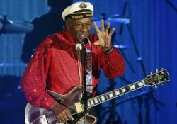 Chuck Berry, aki maga a rock and roll