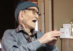 115 éves és 253 napos a legidősebb férfi