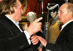 Depardieu személyesen Putyintól kapta meg az orosz útlevelet