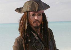 Johnny Depp ötödször is eljátssza Sparrow kapitányt