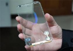 Átlátszó mobiltelefont fejlesztettek ki Tajvanon
