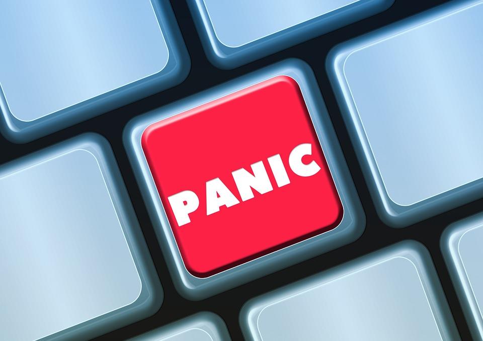 Jön a pánik! Mit tegyek?