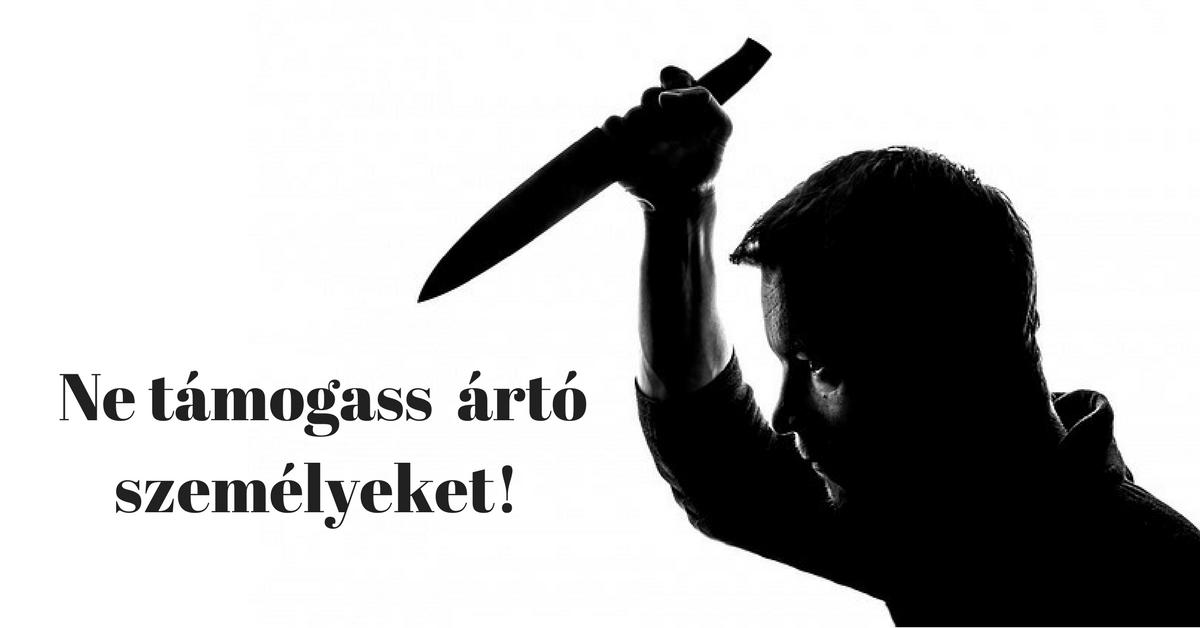 Adnál-e pénzt egy gyilkosnak, tolvajnak, vagy gonosztevőnek? Minden nap megteszed!