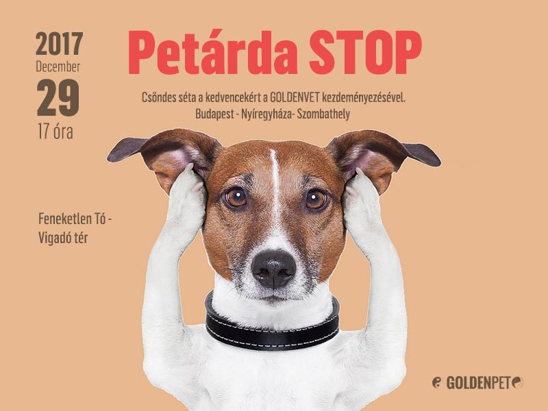Petárda Stop - 90 Forintból megmentheted a kutyád életét