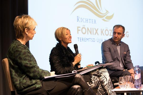 Bátor nők beszélnek újrakezdésükről a Richter Főnix Közösség oldalán