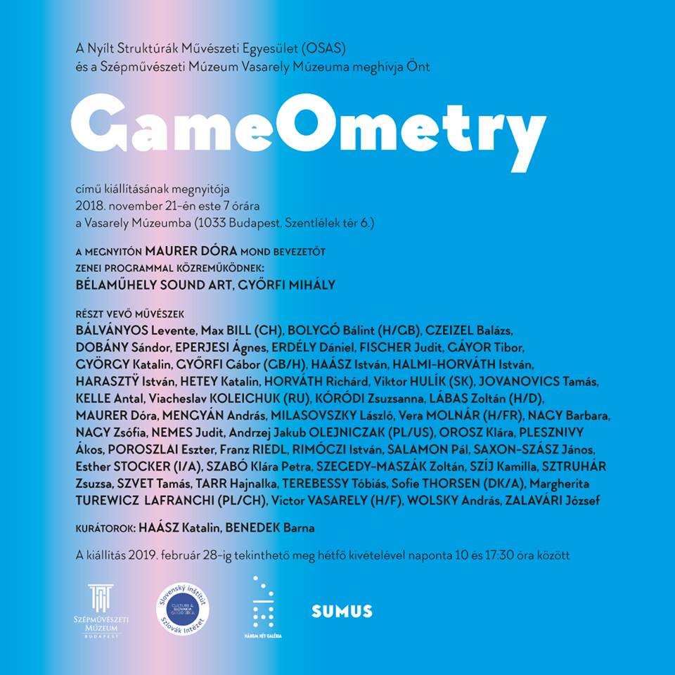 GameOmetry: művészek játékai a Vasarely Múzeumban