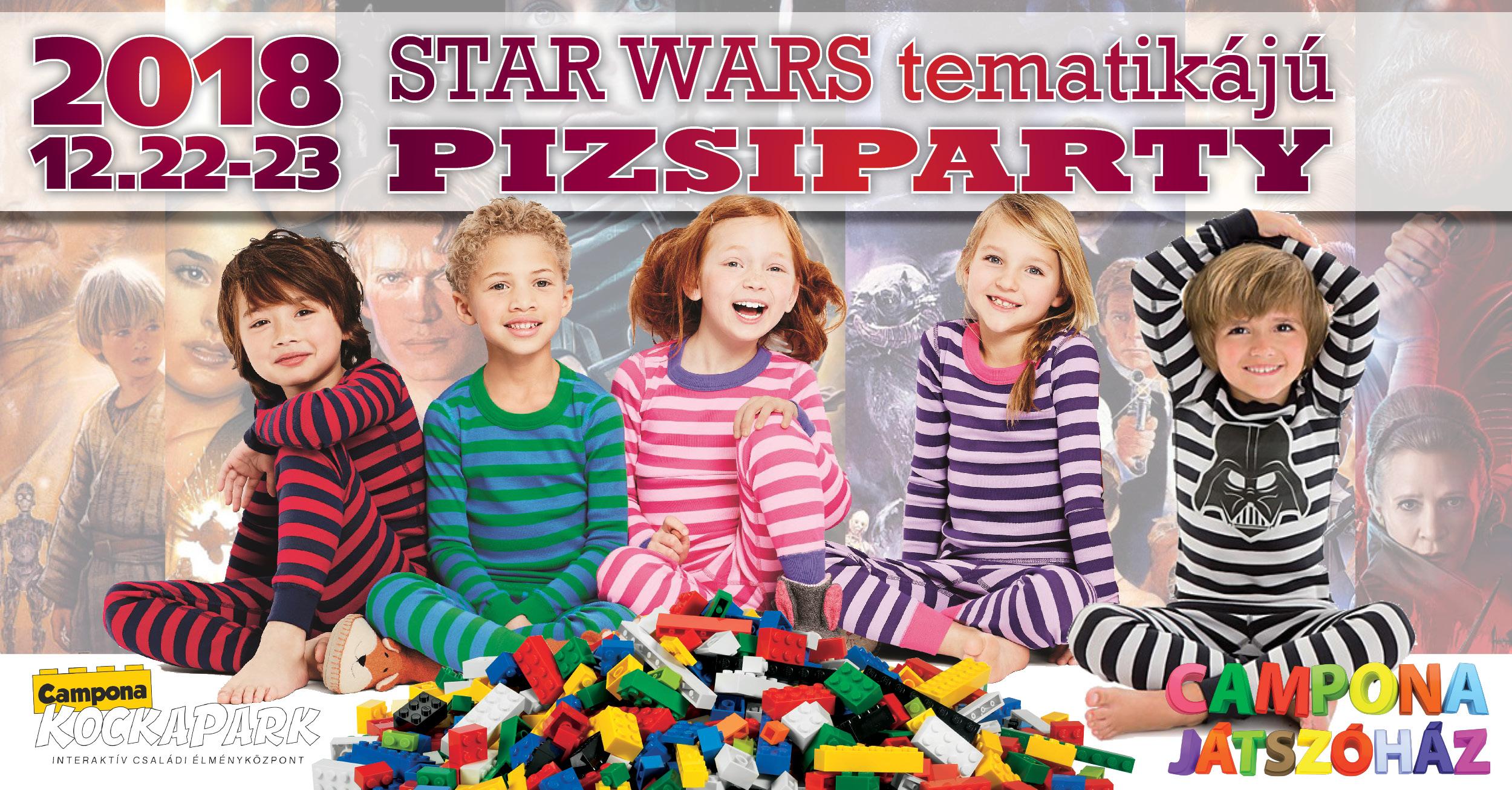 Star Wars évzáró pizsamapartik - két helyszínen a Camponában