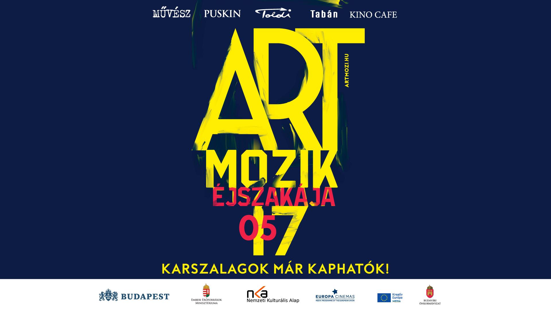 Május 17-én ismét itt az Artmozik Éjszakája!