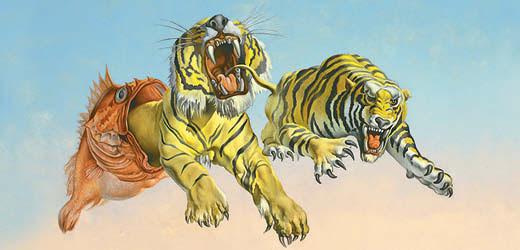 Tigrisbukfenc a felhők felett, avagy szürreál-est Dalítól Magritte-ig