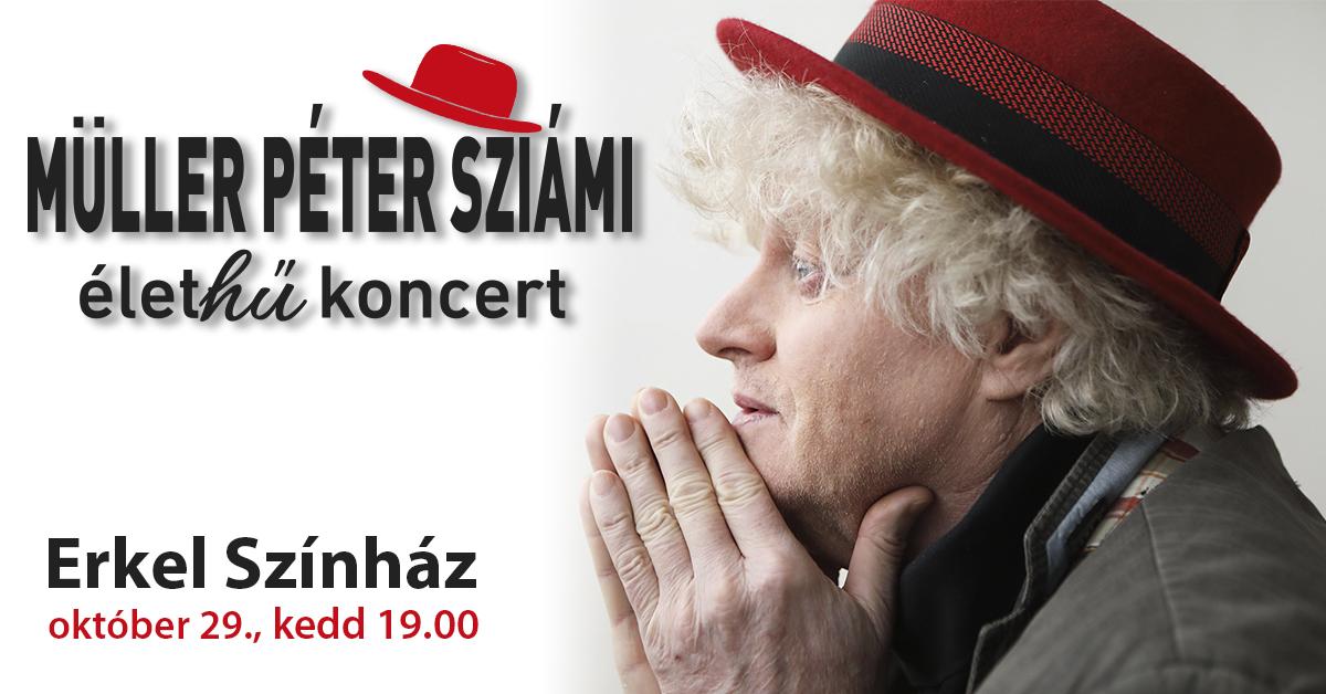 Living-loving: életHű koncertre készül Müller Péter Sziámi