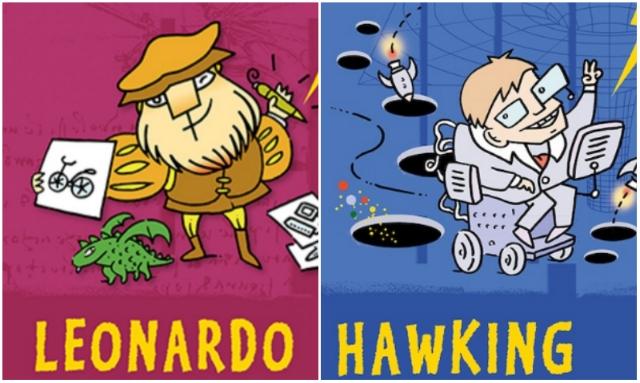 Leonardóval és Hawkinggal nyit az új könyvsorozat