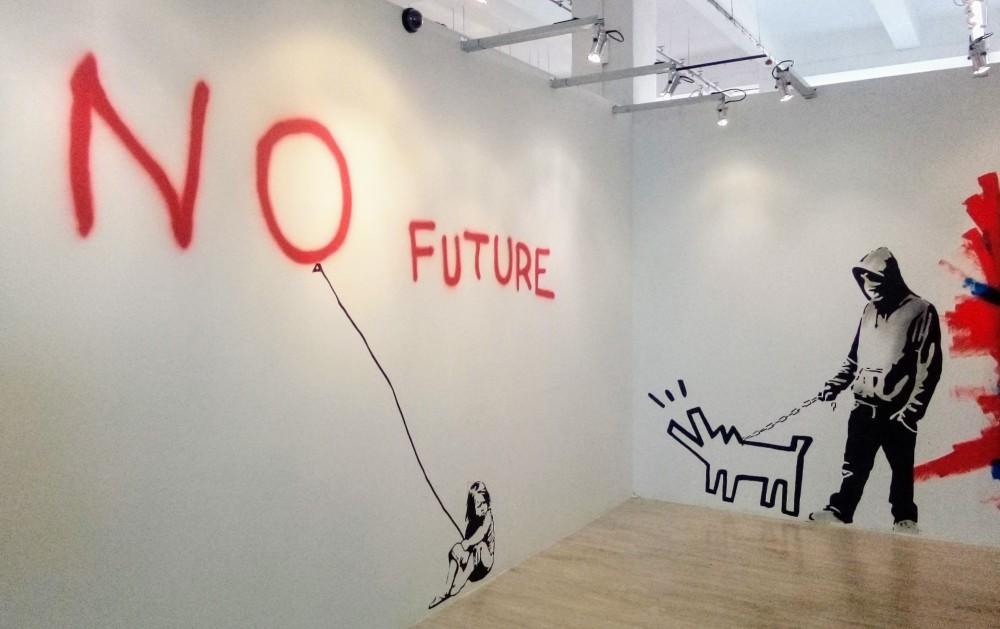 Megnéztük Banksy-t a Kazinczy utcában
